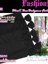 ^Big SALE^ เทรนด์กระโปรงBodycons สไตล์Morgan SA102: Bow Black Bodycons Fashion:กระโปรงทรงสอบ บอดี้คอน สีดำแต่งโบ แบบเดียวกับสาวญี่ปุ่นในนิตยสาร CAWAII