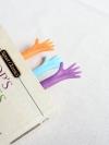 Pre Order / ที่คั่นหนังสือ รูปมือ Help bookmark (set of four)