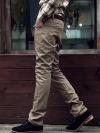 กางเกงแฟชั่นผู้ชายทรงกระบอกเล็กจากเกาหลี DARK BIEGE (S,M.L,XL)