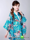 ชุดแฟนซี ชุดยูกาตะ ชุดกิโมโนสีฟ้า ชุดแฟนซีไซส์ใหญ่ ชุดคอสเพลย์ ชุดกิโมโนญี่ปุ่น ชุดแฟนซีประจำชาติ