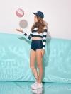 Pre Order / MINI RASHGUARD_NV ชุดว่ายน้ำแฟชั่น stylenanda นำเข้าจากเกาหลีแท้ 100%
