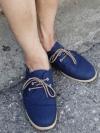 รองเท้าผ้าใบสไตล์ลำลองแฟชั่นผู้ชายจากเกาหลีมี4สี