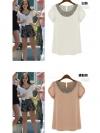 PRE-ORDER :: สินค้านำเข้า > เสื้อ > ขาว/นู้ด