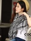 ผ้าพันคอชีมัค Shemash : สีขาวดำ size 100 x 100 cm