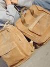 พร้อมส่ง / กระเป๋าเป้ลูกฟูก เนื้อผ้านิ่มๆ ทรงสวย จุของได้เยอะจ้า มีทรงกลม และเหลี่ยม มีกระเป๋าใส่ของด้านหน้าจ้า