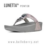 **พร้อมส่ง** FitFlop Lunetta Pewter Size US 8 / EU 39