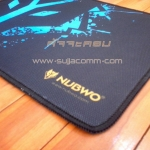 "Mouse PAD ""NUBWO"" Control (M) ( Gaming ) NP-007 (คละสี)"