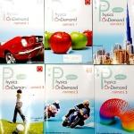 ►Ondemand◄ PHY 10PR Set ฟิสิกส์กลศาสตร์ 1-3 ครบ 10 เล่ม