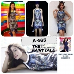 A-465 New Arrival Asava Botanical Night Cat Dress In Autumn Winter 2012-2013