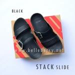 **พร้อมส่ง** FitFlop Stack Slide : Black : Size US 7 / EU 38
