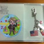Hetalia Anniversary charm - America set
