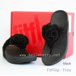 **** FitFlop Frou Black Size US 7 / EU 38