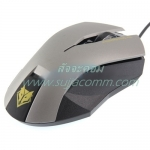 "USB Optical Mouse ""NUBWO"" (NM-19) Gaming (Silve/Black)"