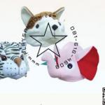 PS-7004-1 ชุด หมวกรูปสัตว์(3แบบ) ชุดที่ 1