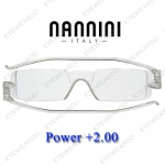 แว่นอ่านหนังสือ Nannini ทรงเล็ก เบอร์ +200