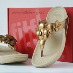**** fitflop Fleur : Bronze : Size US 7 / EU 38