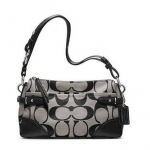 Coach Colette Signature East West Shoulder Handbag # 23072