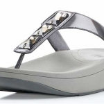 FITFLOPS PIETRA SANDALS PEWTER WOMEN ไซด์ US6-EU37 สำเนา
