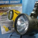 ไฟฉาย Super Bright กำลังไฟ 1 ล้านแรงเทียน แบบชาร์จไฟบ้าน/ไฟรถ