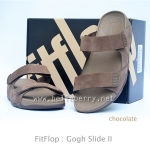 **พร้อมส่ง** FitFlop Gogh Slide II : Chocolate : Size US 8 / EU 41