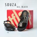 **พร้อมส่ง** รองเท้า FitFlop SOUZA : ALL BLACK : Size US 8 / EU 39