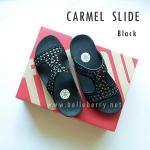 **พร้อมส่ง** FitFlop : CARMEL Slide : Black : Size US 6 / EU 37