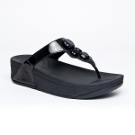 **** FitFlop Lunetta Black Size US 7 / EU 38