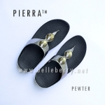 * NEW 2016 * FitFlop Pierra : Pewter : Size US 5 / EU 36