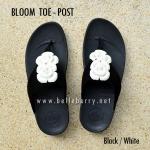 **พร้อมส่ง** FitFlop BLOOM : Black/White : Size US 6 / EU 37