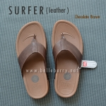 * NEW * FitFlop Men's : SURFER : Chocolate Brown : Size US 9 / EU 42