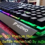 "USB Multi Keyboard ""Nubwo"" (NK-55) Phantom Plus (Blue Switch Semi Mechanical Keyboard)"