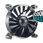 "FAN for Case 12cm. (Black) ""Cooler Master"" Turbine"