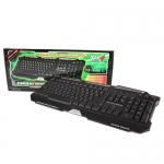 USB Multi Keyboard MD-TECH (KB-668L) Black