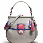 COACH LEATHER COLORBLOCK NEW WILLIS # 19031