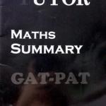 The Tutor Maths Summary สรุปสูตรคณิตศาสตร์ PAT 1