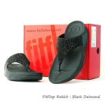 **  ** fitflop Rokkit : Black Daimond Size US 6 / EU 37