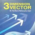 หนังสือกวดวิชา The Brain วิชาคณิตศาสตร์  ม.5  เรื่อง เวกเตอร์  3 มิติ