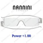 แว่นอ่านหนังสือ Nannini ทรงเล็ก เบอร์ +100