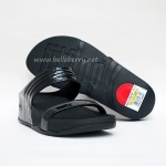 ****  FitFlop Walkstar Slide : Black Size US 7 / EU 38