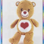 ตุ๊กตาโครเชต์หมี care bears ( 6)