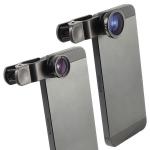 3 in 1 Universal Clip Lens - Wide , Macro , FishEye ใช้กับมือถือ แท็บเล็ต