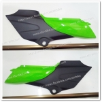 ฝากระเป๋า KR-R ซ้าย - ขวา สีเขียวตอง