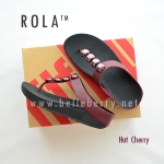 ** NEW ** FitFlop : ROLA : Hot Cherry : Size US 8 / EU 39