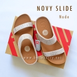 **พร้อมส่ง** FitFlop : NOVY Slide : Nude : Size US 7 / EU 38