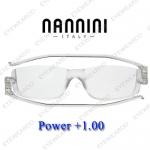 แว่นอ่านหนังสือ Nannini ทรงใหญ่ เบอร์ +100