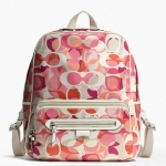 COACH DAISY KALEIDOSCOPE PRINT BACKPACK # 24366