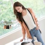 ♡♡pre-order♡♡  เสื้อคลุมแฟชั่นสวยๆ ใส่ทำงานน่ารักๆ ตัดสีชุดด้วยแถบเสื้อ