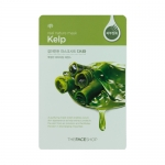 Preorder The Face Shop Real Nature Kelp Mask Sheet 갈아만든 다시마마스크시 1000won มาร์คสูตรสาหร่ายเคล์ป อุดมด้วยแร่ธาตุหลายชนิด ช่วยลดอาการอักเสบจากสิว ป้องกันและ ยับยั้งการเกิดสิว