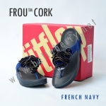 **พร้อมส่ง** FitFlop Frou Cork : French Navy : Size US 6 / EU 37