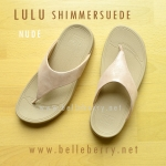 **พร้อมส่ง** FitFlop LULU Shimmer : Nude : Size US 6 / EU 37